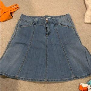 Dresses & Skirts - Gap A line denim skirt Sz 4